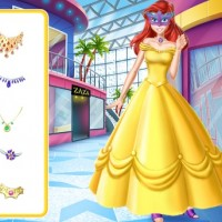 Princesses At A Masquerade: Dress Up Game